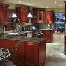 cherry kitchen cabinets black granite. black granite with cherry cabinets kitchen | jpg