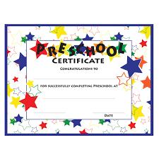 020 Free Preschool Graduation Ceremony Program Template