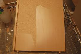 ling off particle board covering fabulously finished