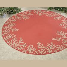 outdoor round rugs barrier reef indoor liora manne