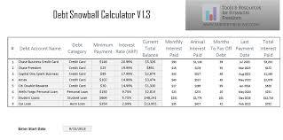 Debt Snowball Calculator I Am Credit Fit