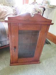 Antique Medicine Cabinet Victorian Wall Cabinet Antique Medicine Cabinet Curio Oak