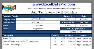 Vat Calculation Formula In Excel Download 7 Uae Vat Excel Templates By Exceldatapro Mohammed Fahim