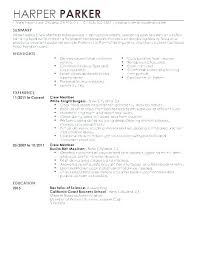 Cocktail Waitress Resume Samples Sample Resume For Waiter Cocktail