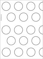 Macaron Guide Sheet Hazelnut Chocolate Macarons Plus Printable Template Pizzarossa