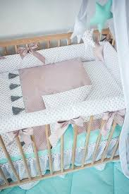 rose crib bedding dusty rose girl crib bedding baby girl nursery set tassel