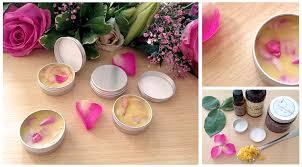 make it diy rose petal lip balm