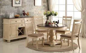 popular of antique white dining room sets and antique white dining room sets with round table