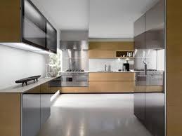 spacious small kitchen design. Classic Eye Catching Design Brown Spacious Kitchen Small T