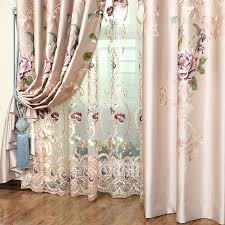high grade embroidered curtains