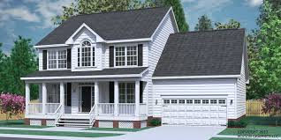 colonial house plans. House Plan 2304-B The CARVER B Colonial Plans