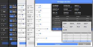 Mortgage Calculator With Amortization By Triplumi Codecanyon