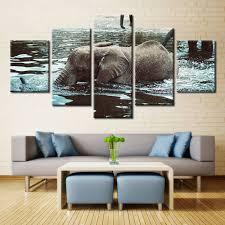 Elephant Auto Insurance Quote Impressive Forbeauty 48 Piece Canvas Painting For Livingroom Elephant Auto