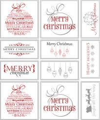 Free Printable Christmas Gift Tags  Free Printable Christmas Tags Christmas Gift Tag Design