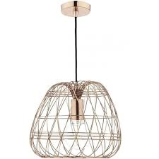 wire pendant lighting. woven ceiling pendant light with open copper wire frame lighting n