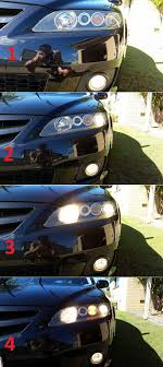 2006 Mazda 6 Lights What Is This Extra Light On My Headlights Motor Vehicle