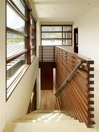 loft guardrail. interior design with horizontal lines at peaks view residence in wilson, wyoming usa by carney logan burke architects - nice railing. loft guardrail 0
