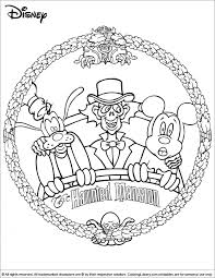 One of my favorite rides in disney world is the haunted mansion! Halloween Disney Coloring Picture Disney Halloween Coloring Pages Halloween Coloring Pages Free Halloween Coloring Pages