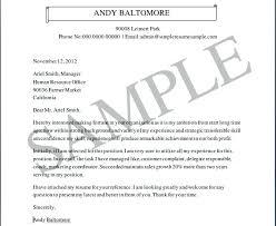 Cover Letter Format For Job Application For Freshers Sample Resume ...