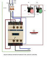 622 best electrical installation images on pinterest electrical 240 volt contactor wiring diagram at Contactor Relay Wiring Diagram
