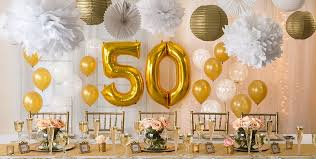 50th wedding anniversary decoration ideas unique golden 50th wedding anniversary party supplies 50th anniversary