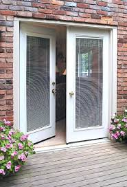 mini blinds for door french patio doors with sliding glass