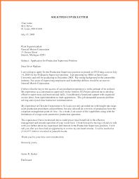 Cover Letter Sample Unsolicited Resume Lv Crelegant Com