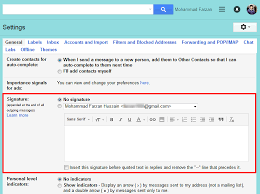 How To Add Signature To Gmail Account Professionally Web
