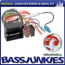 vauxhall astra h corsa c vectra c aerial amp iso wiring harness image is loading vauxhall astra h corsa c vectra c aerial