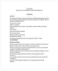 Custodian Resume Examples Musiccityspiritsandcocktail Com