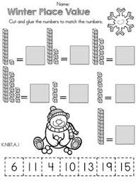 Ten frames, Teen numbers and Kindergarten math worksheets on PinterestWinter Place Value >> Part of the Kindergarten Common Core Aligned Math Worksheets Packet
