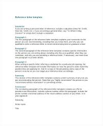 Cover Letter Reference Ideas Of Example Of Reference Letter For