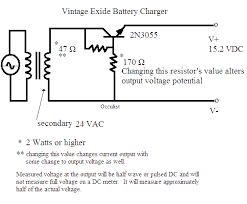 alternative energy circuits blog build them rather than buy them exide charger