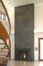 contemporary fireplace surround ideas block cast concrete tiles fireplace design