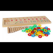 Wooden Math Games Math Game Board for Children 51