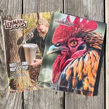 two great catalogs just arrived lehmancmurray hatchery the former do it yourself tools for home kitchen garden the latter for by mail