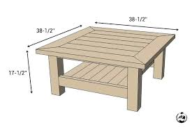 coffee table size coffee table measurements amazing coffee table dimensions square coffee table w planked top coffee table size