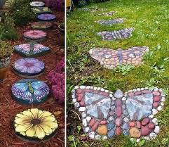decorative garden stepping stones. Decorative Stepping Stones 30 Best Ideas And Designs 2017 Garden A