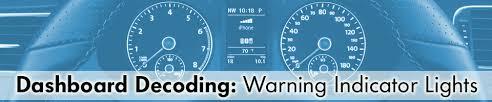volkswagen dashboard warning light