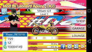 drag racing apk mod motor indonesia satria fu mio supra dll