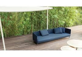 frame on paola lenti sofa outdoor