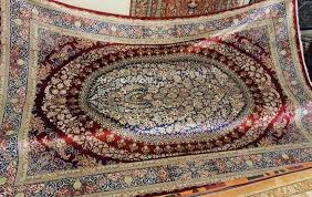 flexible and durable silk thread allows a detailed carpet pattern creation since it is very thin