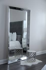 antique leaner mirror for your room decoration ideas silver