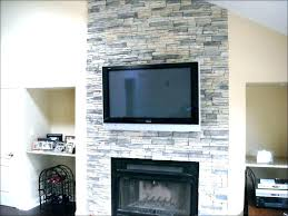white stone fireplace faux gas large size of surround painting stacked white stone fireplace