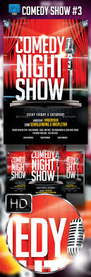 Comedy Show Flyer Template Comedy Show Flyer Template Flyer Template Template And Graphics 4