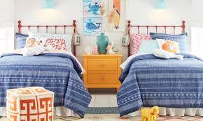 blue kids furniture. A Kids Bedroom Filled With Furniture Blue