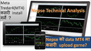 Install Mt4 And Upload Nepse Data To Mt4 For Technical Analysis