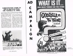 Image result for images of godzilla vs the thing