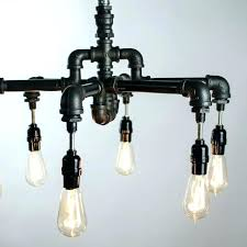chandelier edison bulb bulb chandelier a hand crafted 6 bulbs industrial lighting made to order from hanging sputnik chandelier with edison bulbs