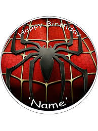Spiderman Edible Cake Cupcake Toppers Incredible Cake Toppers